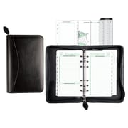 "Day-Timer® Bonded Leather Planner Cover, Undated, 6 Ring, Portable Size, 3-3/4"" x 6-3/4"" (D41746)"