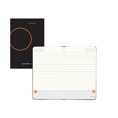 AT-A-GLANCE® Plan.Write.Remember.® Perfect Bound Planning Notebook, Undated, 3 3/8