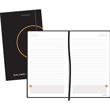 AT-A-GLANCE® Plan.Write.Remember.® Perfect Bound Planning Notebook, Undated, 5