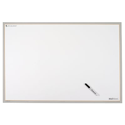 """2018 AT-A-GLANCE® WallMates® Dry-Erase Writing Surface, Self-Adhesive, 36"""" x 24"""", Dry-Erase Marker Included (AW6010-28)"""