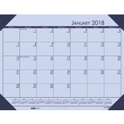 2018 House of Doolittle 22 x 17 Desk Pad Calendar EcoTones Orchid (127-73)