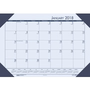 2018 House of Doolittle 22 X 17 Desk Pad Calendar EcoTones Blue (124-40)