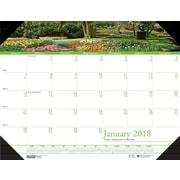 2018 House of Doolittle 22 X 17 Desk Pad Calendar Earthscapes Gardens (174)