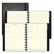 "2018 Filofax® 10-7/8"" x 8-1/2"" Weekly Planner, Soft Cover, Black (C1811401)"