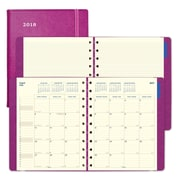 "2018 Filofax® 10-7/8"" x 8-1/2"" Monthly Planner, 17 Months, Soft Cover, Fuchsia (C1811003)"