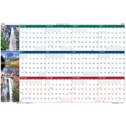2018 House of Doolittle 24 x 37 Erasable Reversible Yearly Wall Calendar Scenic (393)