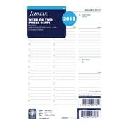 "2018 Filofax® 8-1/4"" x 5-3/4"" Weekly Refill,  A5 Size (C68521)"