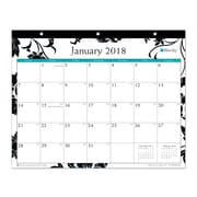 "2018 Blue Sky 11"" x 8.75"" Monthly Tablet Calendar, Barcelona (101537)"