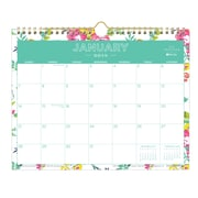 "2018 Day Designer for Blue Sky 11"" x 8.75"" Monthly Wall Calendar, Peyton White (103629)"