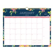 "2018 Day Designer for Blue Sky 15"" x 12"" Monthly Wall Calendar, Peyton Navy (103627)"