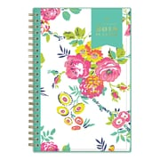 "2018 Day Designer for Blue Sky 5"" x 8"" CYO (Create Your Own) Cover Weekly/Monthly Planner, Peyton White (103619)"