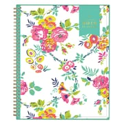 "2018 Day Designer for Blue Sky 8.5"" x 11"" CYO (Create Your Own) Cover Weekly/Monthly Planner, Peyton White (103618)"