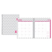 "2018 Dabney Lee for Blue Sky 8"" x 10"" Monthly Planner, Gray Ollie (102130)"