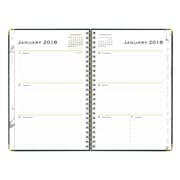 "2018 Blue Sky 5"" x 8"" Weekly/Monthly Hardcover Planner, Carrera (101656)"