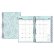 "2018 Blue Sky 5"" x 8"" Weekly/Monthly Planner, Rue Du Flore (101603)"