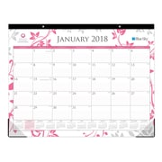 "2018 Breast Cancer Awareness 22"" x 17"" Monthly Desk Pad Calendar, Alexandra (100015)"