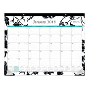 "2018 Blue Sky 22"" x 17"" Monthly Desk Pad Calendar, Barcelona (100014)"