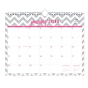 "2018 Dabney Lee for Blue Sky 11"" x 8.75"" Monthly Wall Calendar, Gray Ollie (102141)"