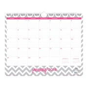 "2018 Dabney Lee for Blue Sky 15"" x 12"" Monthly Wall Calendar, Gray Ollie (102139)"