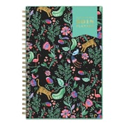 """2018 Day Designer for Blue Sky 5"""" x 8"""" CYO (Create Your Own) Cover Weekly/Monthly Planner, Jungle Tiger (103256)"""