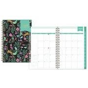 "2018 Day Designer for Blue Sky 5"" x 8"" CYO (Create Your Own) Cover Weekly/Monthly Planner, Jungle Tiger (103256)"