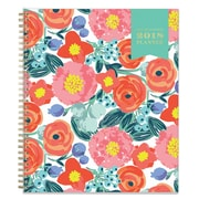 "2018 Day Designer for Blue Sky 8"" x 10"" Monthly Planner, Floral Sketch (103250)"