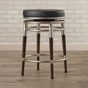 Brayden Studio Lossett 26'' Swivel Bar Stool