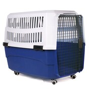 Iconic Pet Pawings Transport Pet Crate; Small (10'' H x 12.6'' W x 19'' L)