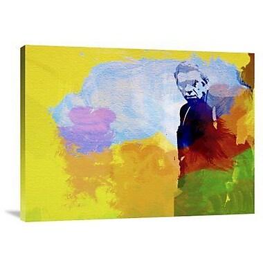 Naxart 'Steve Mcqueen' Graphic Art Print on Canvas; 18'' H x 24'' W x 1.5'' D