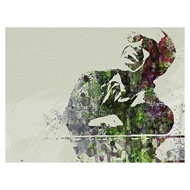 Naxart 'Ray Charles' Graphic Art Print on Canvas; 18'' H x 24'' W x 1.5'' D