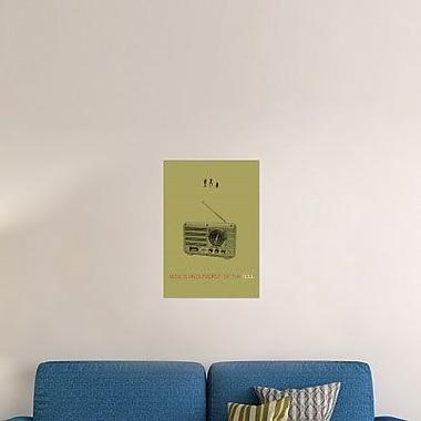 Naxart 'Music of Soul' Graphic Art Print on Canvas; 36'' H x 25'' W x 1.5'' D