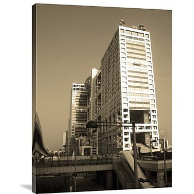 Naxart 'New Tokyo' Photographic Print on Canvas; 16'' H x 12'' W x 1.5'' D
