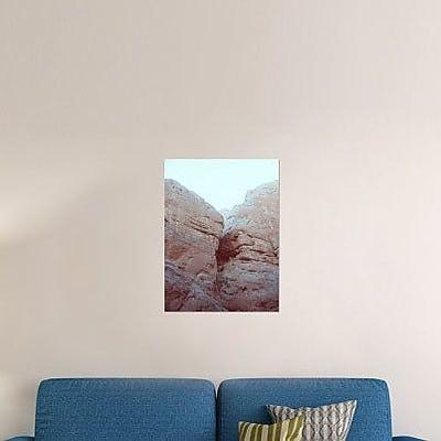 Naxart 'Big Rocks' Photographic Print on Canvas; 16'' H x 12'' W x 1.5'' D
