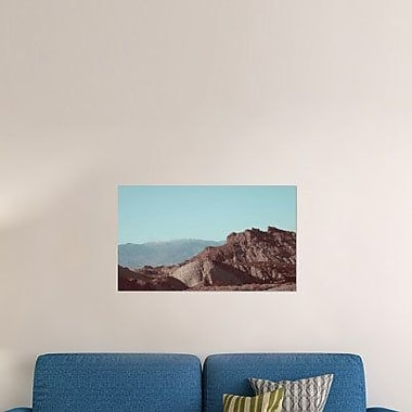 Naxart 'Death Valley Mountains' Photographic Print on Canvas; 24'' H x 40'' W x 1.5'' D