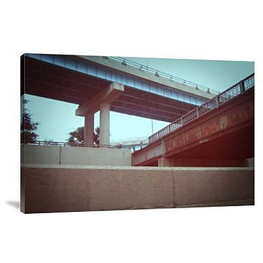 Naxart 'Underpass 2' Photographic Print on Canvas; 12'' H x 18'' W x 1.5'' D