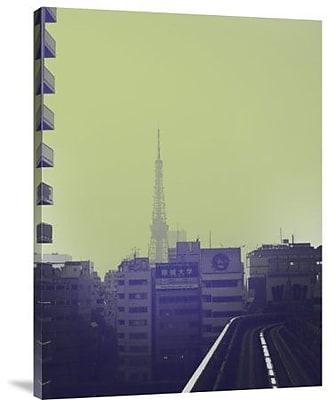 Naxart 'Tokyo City Ride' Photographic Print on Canvas; 32'' H x 24'' W x 1.5'' D