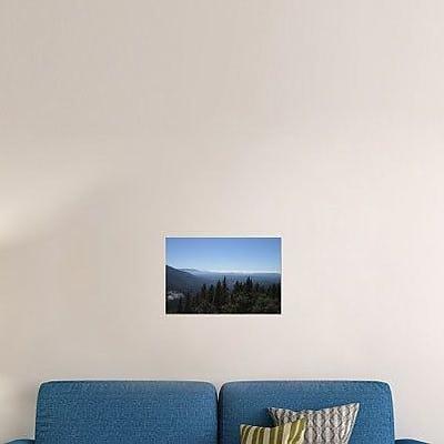 Naxart 'Sierra Mountains' Photographic Print on Canvas; 16'' H x 24'' W x 1.5'' D