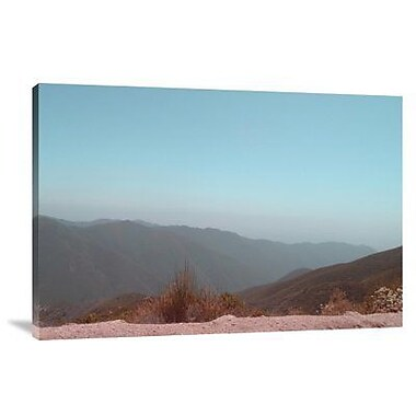 Naxart 'Southern California Mountains 1' Photographic Print on Canvas; 12'' H x 18'' W x 1.5'' D