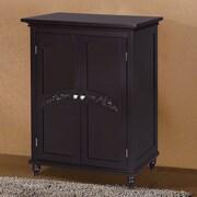 Darby Home Co Ora 27'' W x 34'' H Cabinet; Dark Espresso