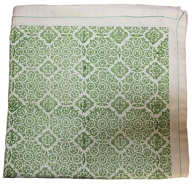 Sustainable Threads Englewood Cotton Tablecloth; 90'' W x 60'' L