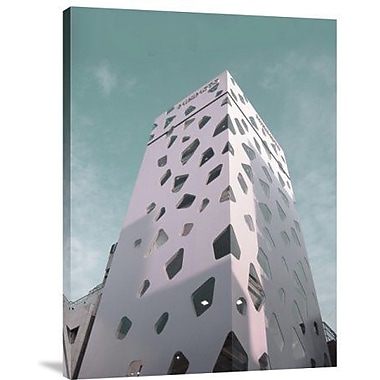 Naxart 'Modern Building in Tokyo' Photographic Print on Canvas; 40'' H x 30'' W x 1.5'' D