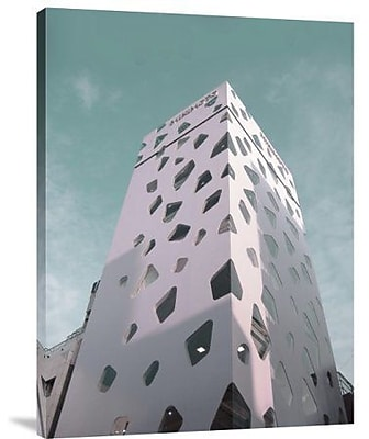 Naxart 'Modern Building in Tokyo' Photographic Print on Canvas; 24'' H x 18'' W x 1.5'' D