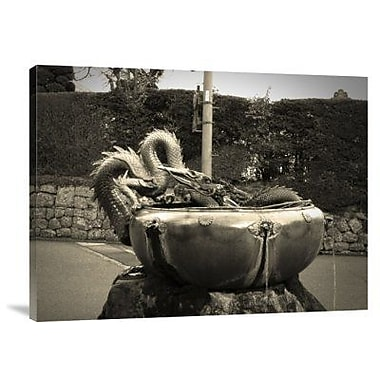 Naxart 'Nikko Fountain' Photographic Print on Canvas; 12'' H x 16'' W x 1.5'' D