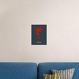 Naxart 'Brussels Radiant Map 2' Graphic Art Print on Canvas; 16'' H x 12'' W x 1.5'' D