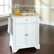 Darby Home Co Abbate Kitchen Cart; White