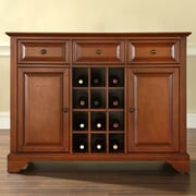 Darby Home Co Abbate Server; Classic Cherry