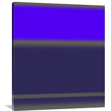Naxart 'Abstract Purple' Graphic Art Print on Canvas; 36'' H x 31'' W x 1.5'' D