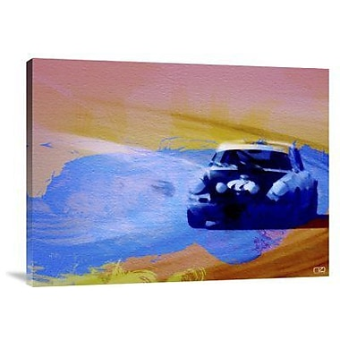Naxart '911 on the Racetrack' Graphic Art Print on Canvas; 18'' H x 24'' W x 1.5'' D