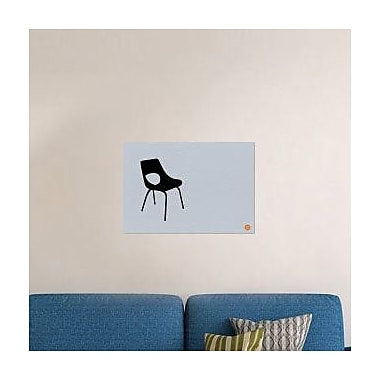 Naxart 'Black Chair' Graphic Art Print on Canvas; 28'' H x 40'' W x 1.5'' D
