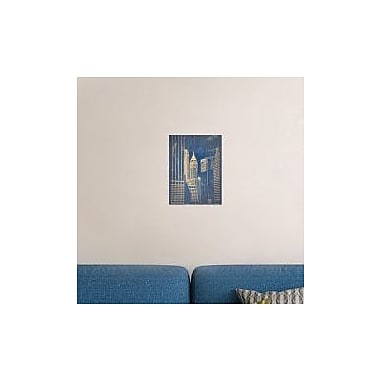 Naxart 'Manhattan 1' Photographic Print on Canvas; 16'' H x 12'' W x 1.5'' D